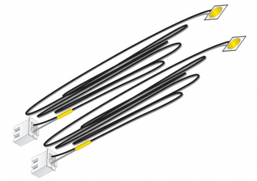 Woodlands Scenics JP5742 Yellow Stick-on LED Lights